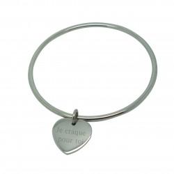 Bracelet à pampille - Acier