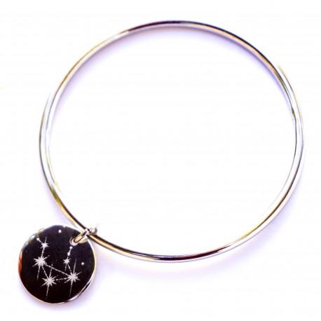 Constellations - Bracelet personnalisé jonc