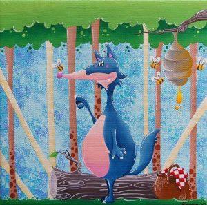 Toiles et tableaux pour enfants Ursula Dejean